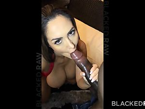 BLACKEDRAW Ava Addams Is fuckin' big black cock And Sending photos To Her spouse