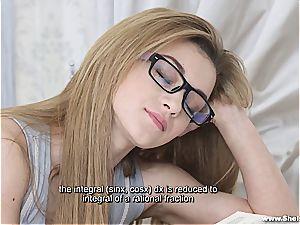 She Is Nerdy - Sonya edible - Nerdy fucky-fucky desire