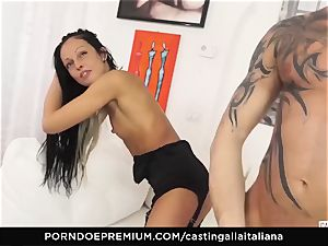 casting ALLA ITALIANA - kinky fuckfest with local unexperienced