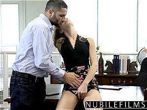 NubileFilms - Office breezy drilled Till She bursts
