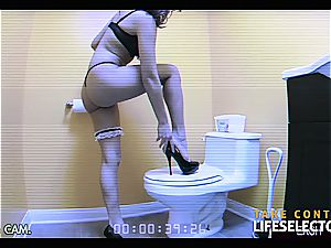 Sara Luvv - marvelous black-haired likes fuckpole