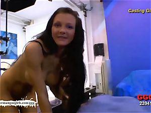 German Goo damsels - hefty strap-on lesbos