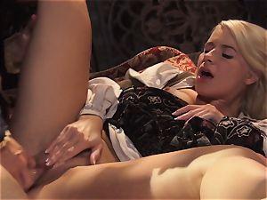 super-fucking-hot goddess Anikka Albrite awoken with a plow