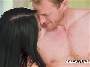 chinese masseuses gargling phat man rod in the douche