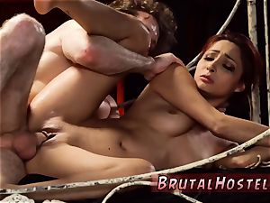 Real unexperienced bondage & discipline and blow-job machine skimpy tiny Jade Jantzen, she just wished to have a