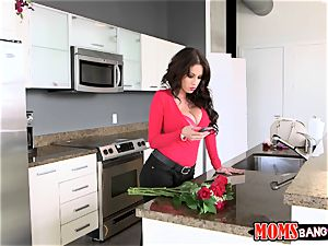 jizzing on chocolates from valentines day with Sophia Leone and Sean Lawless