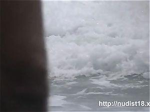 nudist beach spycam preys on nude hotties