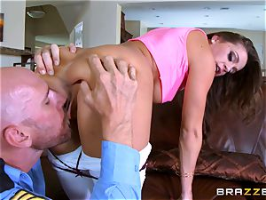 Abigail Mac gets shafted by a molten cop in uniform