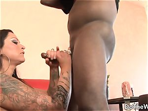 red-hot milf superstar takes enormous ebony salami for husband