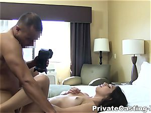 individual Casting-X - tonguing ravage and noisy orgasm