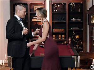 Xander fucks Brett and gives her a facial cumshot