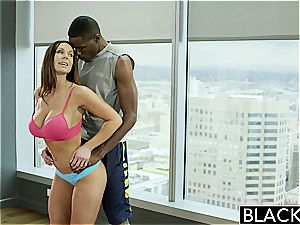 Kendra gets a dose of his ebony monster