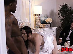 cuckold mummy mega-bitch Dana big black cock beaten