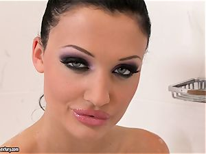 soddening moist Aletta Ocean feels so mischievous in her tub she can't wait to have fun super-fucking-hot