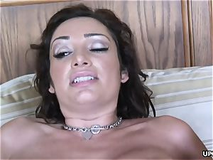 sensuous dark haired with yam-sized bumpers Vannah Sterling