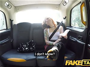 faux taxi smallish Kylie Nymphette cooter ravaged