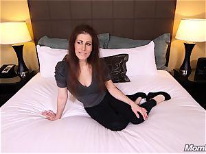wild ginger-haired milf fulfills porno fantasy