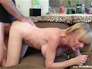 pounded Up shag desire With unexperienced GILF