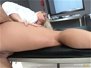 phat boobed doc Sadie Swede ensures a entirely working sausage