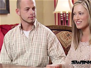 Chloe and Jason are hoping to have the hottest total swap ever