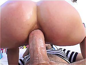 Cherie DeVille gets her taut sphincter gaped