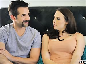Spizoo - see Chanel Preston throating and tearing up