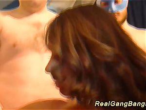 humungous funbag stepmoms first real ganbang
