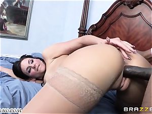 Phoenix Marie is prepped to take a immense black fuck-stick in her beaver