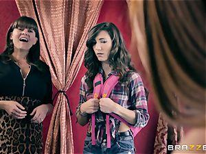 girly-girl fun with Alexa Nova and Ruby Sparx