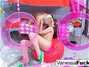 Flower intensity lesbians Vanessa